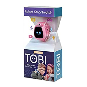 Little Tikes Tobi Robot Smartwatch for Kids with Cameras, Video, Games, and Activities – Pink, Multicolor