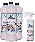 KaiserRein Teppichreiniger Polsterreiniger Teppich-Shampoo Konzentrat 3 x 1 L = 3 L Konzentrat für Auto Textil Manuel und Maschinell
