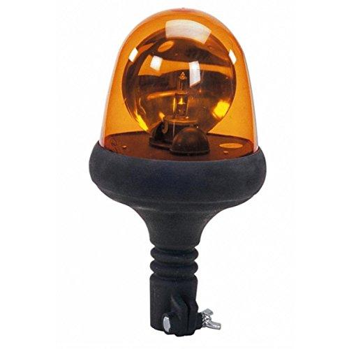 Preisvergleich Produktbild Rundumleuchte mit Grundlage aus Gummi flexibel Serie Flex 24 V Leuchtmittel von AMA