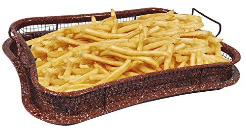 Air-o-Crisp® Red Rock Crisper Tray - Vassoio antiaderente per cottura forno senza olio