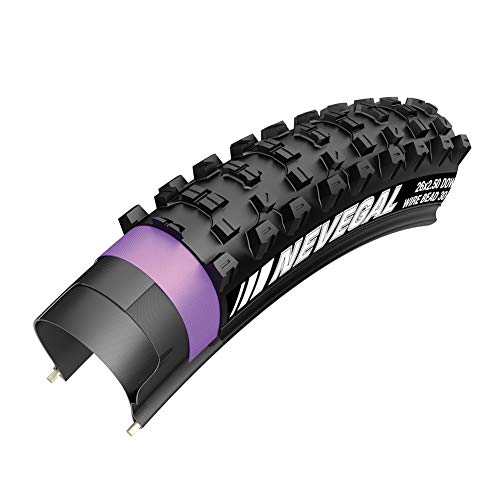 Bibike Mountain Bike Tire 26'x2.1' 60TPI Foldable Puncture-Proof MTB Bike Tire