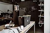 ROOM IN A BOX Stehschreibtisch Monkey Desk Medium/Natur: Faltbares ergonomisches Stehpult, praktischer Ständer für Laptop, PC, Tablet und Monitor, klappbarer Standing Desk für den Schreibtisch - 4