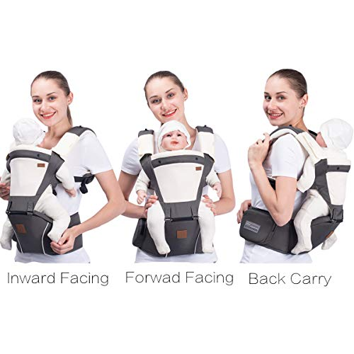Bebamour New Style Designer Baby Carrier and Baby Sling Carrier 2 in 1,Denim Blue