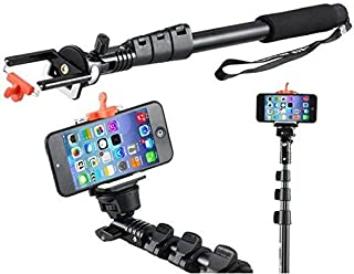 iPhone Adjustable Handheld Monopod Selfie Stand Heavy Duty Aluminium