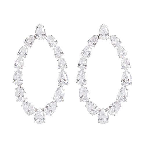 Parfois - Pendientes Largos con Cristales - Mujer