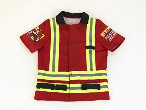 Theo Klein 8904 Feuerwehrkostüm, Unisex-Kinder, multicolor, Einheitsgröße