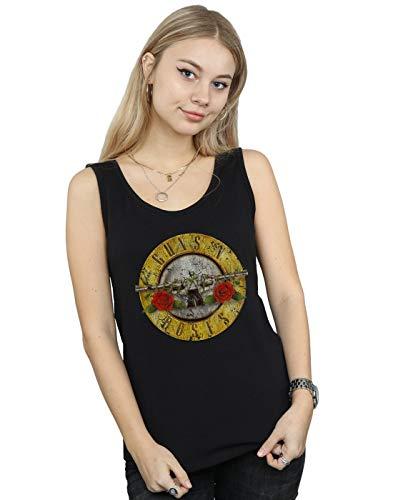 Women's Bullet Logo Guns N Rose Vest Top, S to XXL