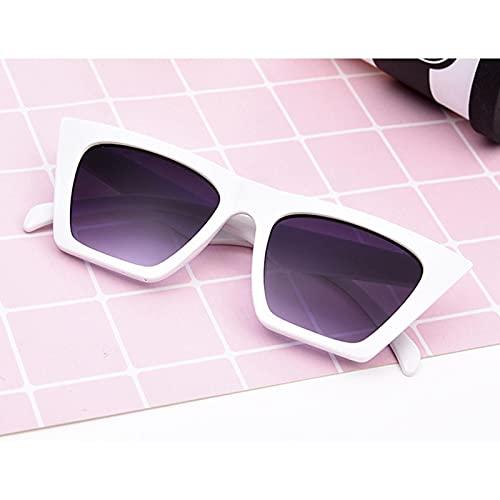 ShFhhwrl Clásico Gafas De Sol Gafas De Sol con Montura Grande De Moda para Hombres Y Mujeres, Gafas Clásicas De Mariposa, Pequeña