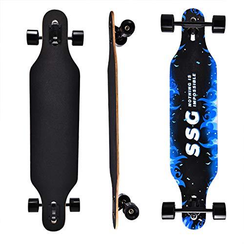 CLYCTIP Longboard Skateboard 43' x...