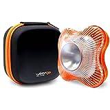 Flash LED Luz de Emergencia homologada, señalización de avería y Accidentes de Alta Luminosida