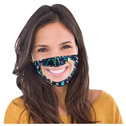 SHUANGA Männer und Frauen Anti-Verschmutzung Anti-Spritzer Erwachsenen Gesichtsschutz Wiederverwendbare Anti-Fog Anti Staub Atemschutz transparent Face Cover