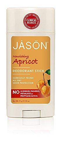 Jason Natural Cosmetics Deodorant Stick, Apricot & Vitamin E, 2.5 oz by Jason Natural Cosmetics