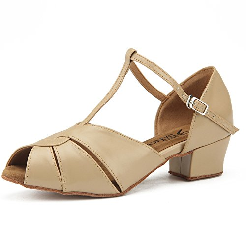 Pro DancerPD1127A - Latin Damen, Beige (beige), 38.5 B(M) EU