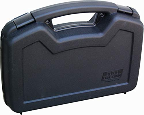 MTM 805-40 Single Pistol Handgun Case (Black), 10.1' x 8.0'...