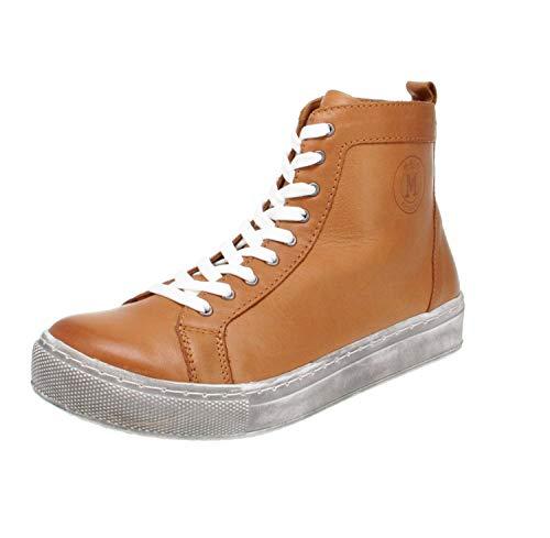 Maca Kitzbühel 2818 - Damen Schuhe Freizeitschuhe - Cognac, Größe:41 EU