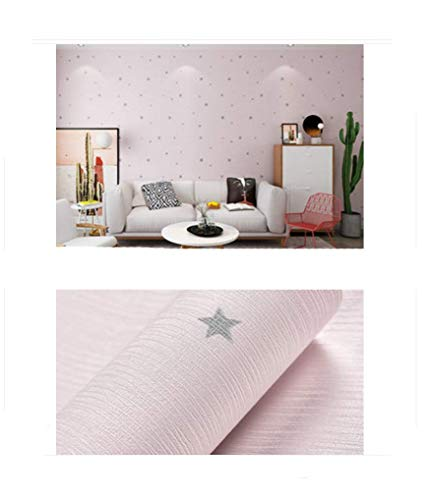DJY-JY Impermeable del papel pintado auto-adhesivo 10 metros Dormitorio caliente del papel pintado de la sala 3D sólido tridimensional Color de la pared del dormitorio de pasta espesa vinilo decorativ