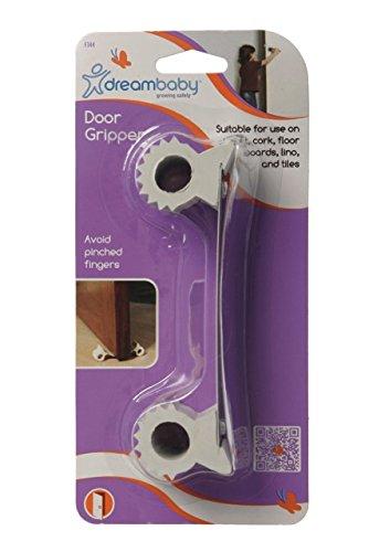 Dreambaby - Tope de seguridad para puerta, Blanco