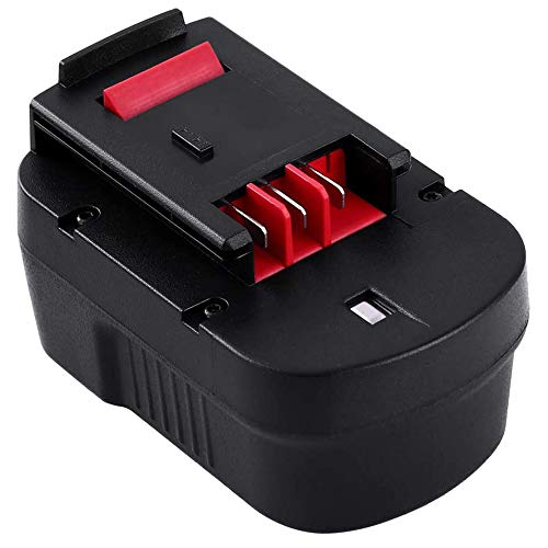 3.6Ah HPB14 Replace for Black and Decker 14.4V Battery Firestorm FSB14 FS140BX A1714 499936-34 499936-35 BD1444L HPD14K-2 CP14KB HP146F2 CDC140AK HP148F2R Cordless Power Tool 1Packs