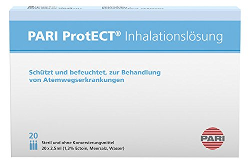 Pari ProtECT Inhalationslösung 077G6000, 20 x 2,5 ml