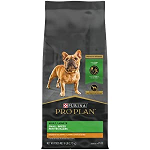 Purina Pro Plan High Calorie, High Protein Small Breed Dry Dog Food, Chicken & Rice Formula – 6 lb. Bag