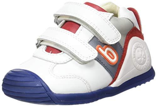 Biomecanics 202148, Zapatillas de Estar por casa para Bebés, Blanco (Blanco (Sauvage)) B, 24 EU