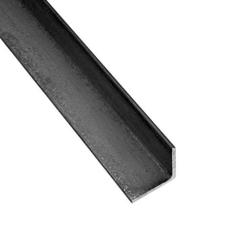RMP Hot Roll Steel Structural Angle A36, Rounded Corners, 3 Inch x 3 Inch Leg Length, 3/16 Inch Wall, 24 Inch Length