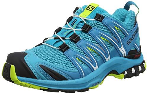 Salomon XA Pro 3D W, Zapatillas de Trail Running para Mujer, Azul (Bluebird/Caneel Bay/Acid Lime Bluebird/Caneel Bay/Acid Lime), 39 1/3...