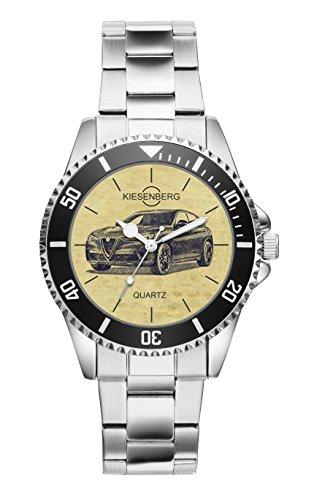 Geschenk für Alfa Romeo Stelvio Fahrer Fans Kiesenberg Uhr 20340