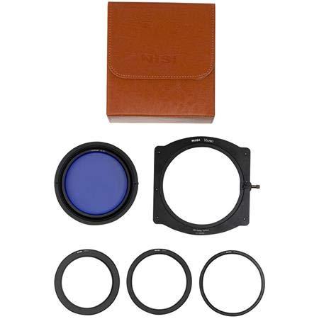 NiSi NIP-FH100-V5PRO-EN V5 Pro - Soporte para filtros con polarizador Mejorado, Color Negro
