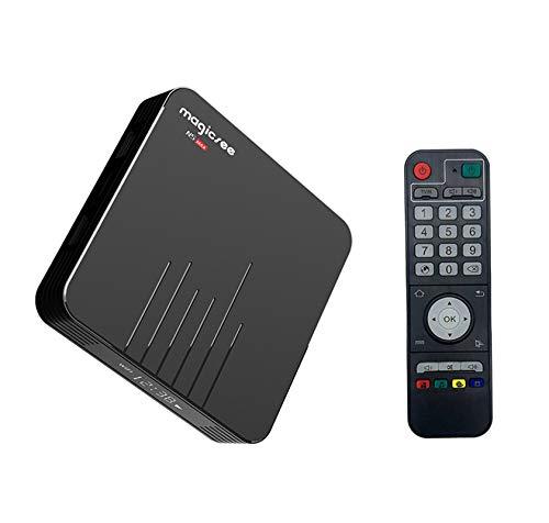 Magicsee Android 9.0 N5 Max TV Box Amlogic S905X3 Quad-core 4GB 32GB Dual WiFi 2.4G + 5GHz Bluetooth 4.1 8K HD Smart Android Box