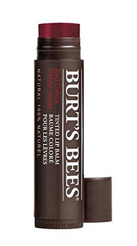 Burt's Bees 100% Natürlich  Getönter Lippenbalsam, Red Dhalia, 1er Pack x 4,25 g