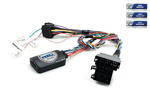 NIQ CAN-BUS Lenkradfernbedienungsadapter geeignet für NANOX Autoradios, kompatibel mit Mercedes-Benz A-Klasse | B-Klasse | C-Klasse | Sprinter | Vito | Viano