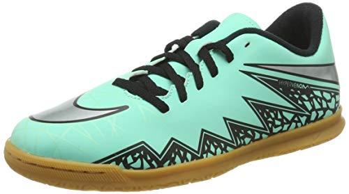 Nike Herren Jr Hypervenom Phade Ii Ic Fußballschuhe, Plateado/Naranja (Grn GLW/Mtllc Slvr-Hypr Orng-b-), 38 EU