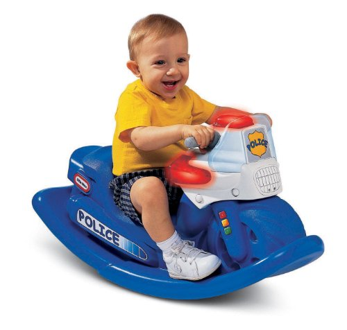 Read About Little Tikes Police Cycle Sounds Rocker