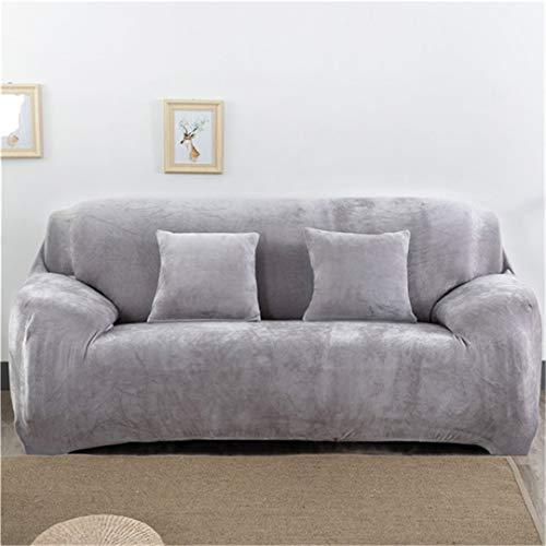 Mdsgfc - Funda de sofá elástica para sala de estar, universal, todo incluido, para sofá de 1/2/3/4 plazas, Color 8, 1-Seat90-140cm