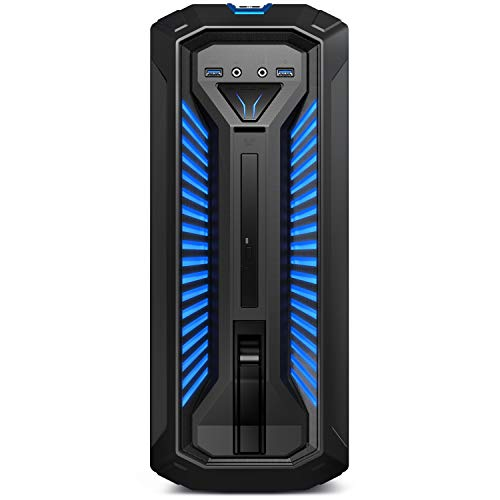 MEDION ERAZER Bandit E10 Gaming Desktop PC (Intel Core i5-9400F, 16GB DDR4 RAM, 1TB HDD, 512GB PCIe SSD, NVIDIA GeForce GTX 1650 4GB GDDR5, DVD, Hot-Swap, WLAN, Win 10 Home)