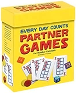 Every Day Counts: Partner Games: Ten Grid Deck Grades K-3