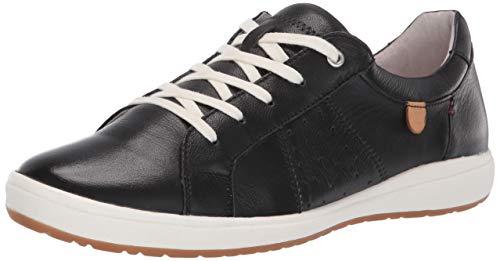 Josef Seibel Women's Caren 01 Sneaker, Black, 41 Medium EU (10-10.5 US)