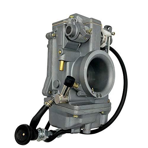 love lamp Carburador Bomba de Acelerador de Motocicleta Compatible con Mikuni HSR45MM Carbureor Carbureor 45 mm Carb Compatible con Harley EVO Twin CAM XL883 FLHS Sportster Engine