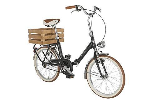 """Alpina Bike Camping, Bicicletta 1v Gioventù Unisex, Nero, 20"""""""