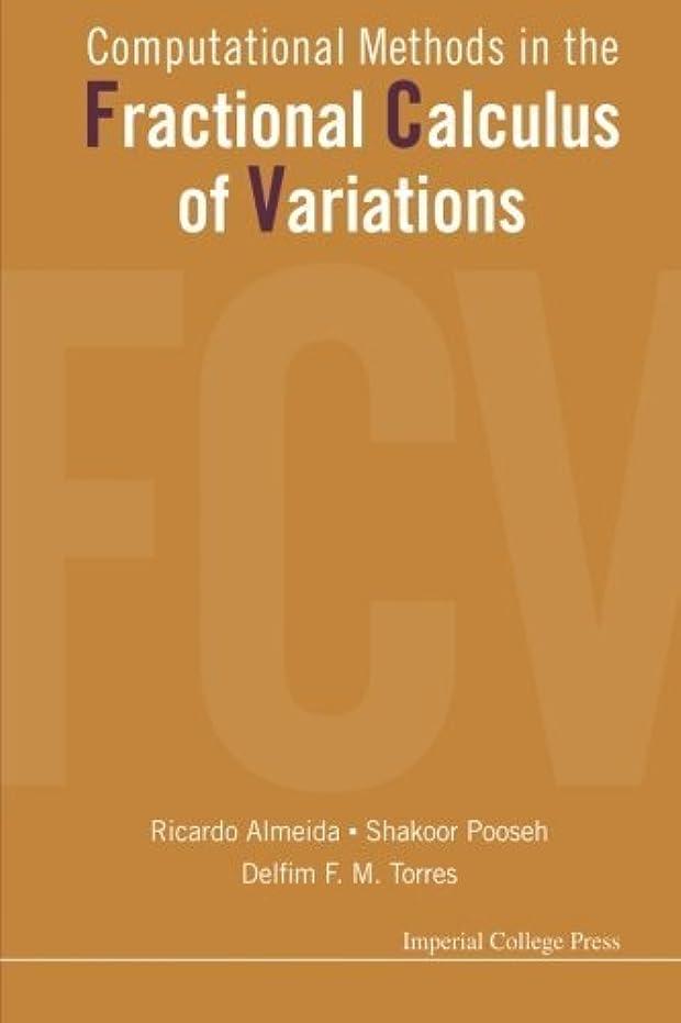 葉っぱ瞑想する産地Computational Methods In The Fractional Calculus Of Variations