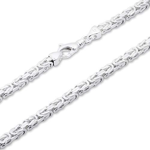 925 Silberkette: Königskette Silber 4,5mm breit - Länge frei wählbar KK0045
