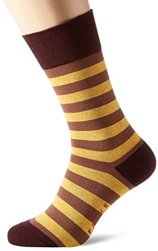 FALKE Herren Sensitive Mapped Line M SO Socken, Rot (Burg&y 8593), 43-46