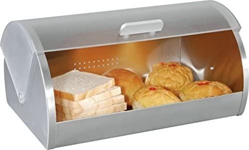 high quality Euro-Ware, Silver Europeware 0309 new arrival White Stainless Steel Bread Box, online 2.3 online sale