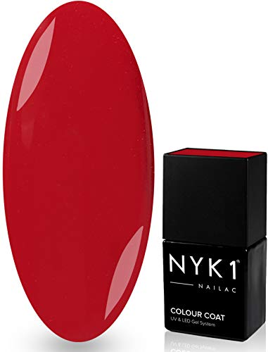 NYK1 NAILAC - HOLLYWOOD - Professional Shellac Gel Nail Polish - UV & LED Drying - Quick Soak Off Gel Polish 10ml - Over 100 Shellac Colours to Choose From! by NYK1