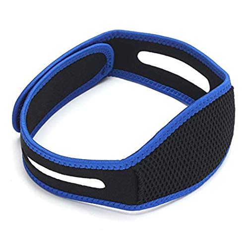 Anti Snoring Chin Strap, Snoring Stopper Solution, Anti Snoring Devices, Stop Snoring Sleep Aid Adjustable & Breathable Snore Stopper for Men and Women