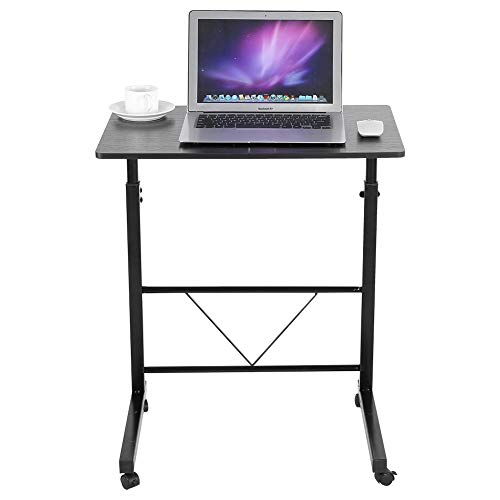 Wakects Soporte de escritorio para portátil de mesa, ajustable para computadora portátil, accesorios para el hogar, 23.6 x 15.7 pulgadas (negro)