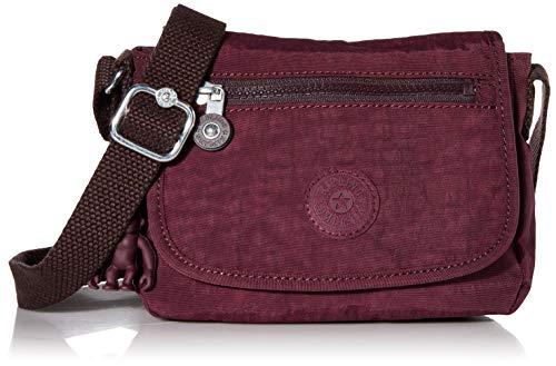 Kipling Damen Sabian Crossbody Mini Bag Umhängetasche, Dark Plum, Einheitsgröße