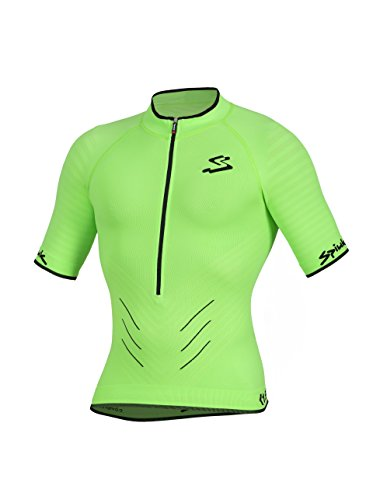 Spiuk Team Maillot, Hombre, Verde, S