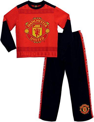 Manchester United - Pijama para Niños 6-7 Años